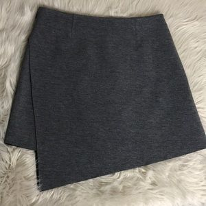 Trouvé gray skirt